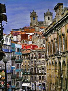 Porto, Old Town - ok, got totally drunk here on the tours of (what else) the port cellars...