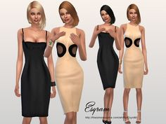 Cocktail dress for The Sims 4