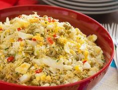 Arroz de Bacalhau Arroz Risotto, Portuguese Recipes, Portuguese Food, Cooking Recipes, Healthy Recipes, I Foods, Macaroni And Cheese, Side Dishes, Seafood