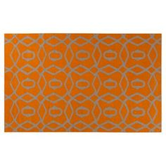 Check out this item at One Kings Lane! Cirus Flat-Weave Rug, Golden