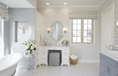 Patrician Project: Bathroom, by A Well Dressed Home, LLC. Attainable, livable interiors. For more info visit www.awelldressedhome.com