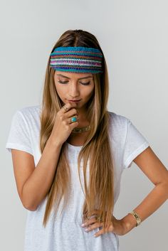 Peruvian Fabric Headband from Prism Boutique