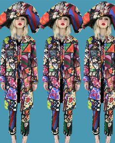 Fall 2021 Fashion Trend: Patchwork [PHOTOS] – WWD Fashion News, Fashion Beauty, Fashion Show, Fashion Looks, Womens Fashion, Fashion Trends, Quilted Skirt, Fashion Collage, Yorkie
