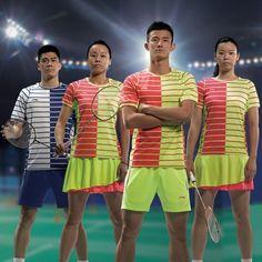 Li Ning 2016 Thomas & Uber Cup China National Team Mens Badminton Jersey On Sale Badminton Clothing, Uber, Southern Prep
