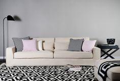 Hansen Stoffsofa | Skandinavisches Designer-Sofa aus Stoff