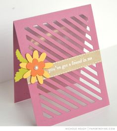 Friend In Me Card by Nichole Heady for Papertrey Ink (March 2017)