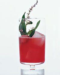 4        blackberries, 4        lemon verbena leaves- plus 1 sprig, 3/4        ounce Simple Syrup Ice, 1 1/2ounces gin, 1/2        ounce fresh lime juice, 1ounce chilled club soda