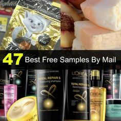 47 Best Free Samples by Mail!  There is a ton of free stuff out there-ya just gotta find it!  Read this post for all of our favorites!