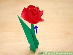 Image titled Fold a Paper Rose Step 49