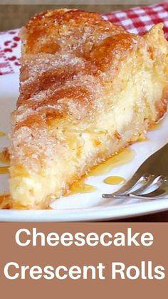 Cheesecake Desserts, Sopapilla Cheesecake, Sopapilla Recipe, Vanilla Desserts, Cream Cheese Desserts, Coconut Desserts, Pudding Desserts, Strudel, Cupcakes