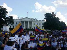 #30M Venezolanos desde #WashingtonDC tambén expresaron su apoyo #360UCV