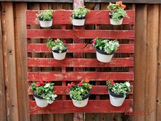 wood pallets!  love this!