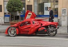 T-Rex Motorcycle Vehicle | 2011 Campagna T-REX 14R Motorcycle ~ The Car Club