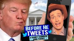 "Randy Rainbow does it again. My favorite line is:  ""His vocabulary and that mouth of his makes the Kardashians look like geniuses."""