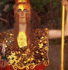 Pallas Athene by Klimt