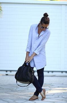 Spring outfit. So cute and casual chic