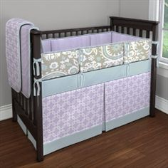 My Carousel Designs Custom Baby Bedding - website allows you to design your own crib bedding