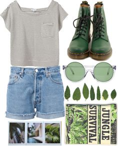 """""""Jungle Survival"""" by sweetnovember19 ❤ liked on Polyvore"""