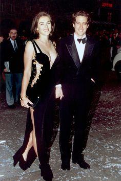 Hugh Grant and Elizabeth Hurley - HarpersBAZAAR.com