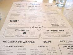 Oddfellows menu