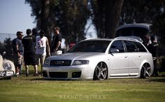 accuair-bagged-audi-avant #Audi Accessories. Check them out at #Rvinyl http://www.rvinyl.com/Audi-Accessories.html
