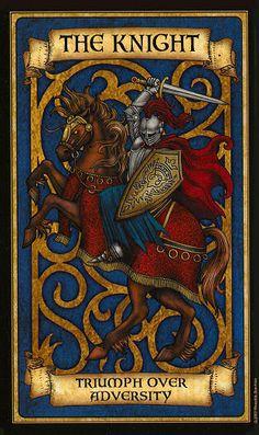 Oraculo Madame Endora: El Caballero - La magia del Tarot