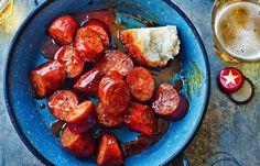 Chorizo mit Apfelwein