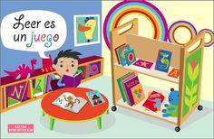 """Recursos Educativos de Educación Infantil: """"Leer es un juego"""""""