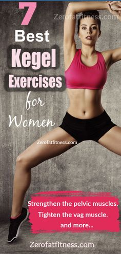 How to Do Kegel Exercises for Women- Kegel exercises can strengthen the pelvic floor muscles and make the vag muscle tighter.Here is how to do kegel exercises and the benefits #kegelexercise #pelvicfloorexercise #fitness #health #exercies #workout #womenhealth