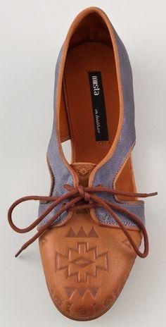 Miista Xenia Lace Up Flats (shopbop.com)