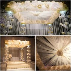Paper Chuppah (Huppah, Wedding Canopy) from Special Events Magazine - mazelmoments.com