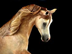 5.5 Mini Pearl UNPAINTED Resin Arabian Horse by DeborahMcDermott