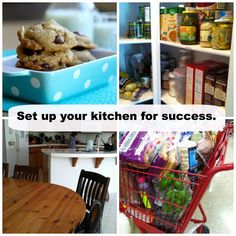 Set Up Your Kitchen For Success This Week - easy things you can do to make meal prep easier this week.