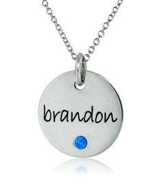POSH Mommy Personalized Name and Birthstone Jewelry