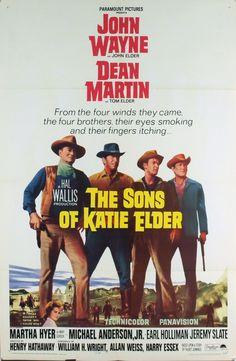 The Sons of Katie Elder John #wayne dean #Martin #western