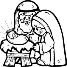 Image result for nativity shadow template