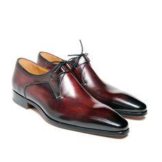 Derby un oeillet à bout fuselé - One eyelet Derby shoe with slender toe