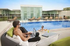 Get Relax in  #CentroBarhsa Stylishly designed Hotel located in Dubai with  exciting facilities such as Business Centre,Bar,Gym.