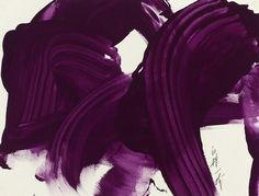 Kazuo Shiraga - Purple King