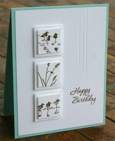 Wetlands Happy Birthday Card