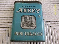 Abbey Pocket Tobacco Tin (Very Rare)