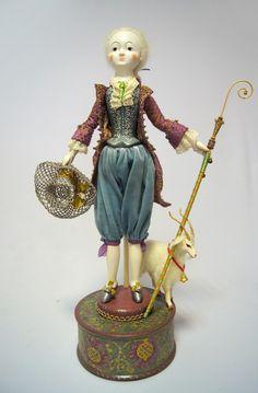 Авторская кукла Пастух