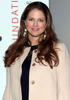 Princess Madeleine of Sweden attended a conference on human trafficking and sexual exploitation in Stockholm on March 23, 2015.