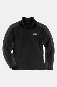 The North Face 'Glacier' Quarter Zip Pullover (Big Boys) available at #Nordstrom