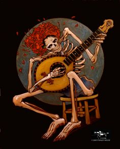 ➳➳➳☮American Hippie Music Art - Grateful Dead