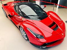 "The Ferrari LaFerrari. Wait a minute... ""La"" means ""The"" in English, so... It's called Ferrari TheFerrari? O.o"