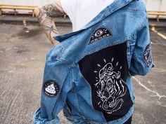 Image result for customized denim jacket