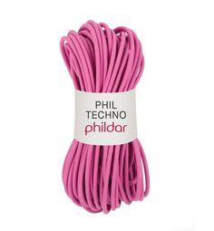 Phil techno es un cable de goma 100% plastico ligada a la tendencia de esta temporada de neopreno. Encuentra los 4 colores fascinantes de este mat ...