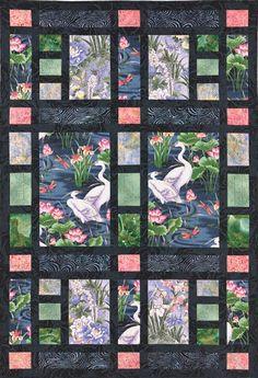Shoji Screen Quilt Pattern van lnownes op Etsy, $9.99