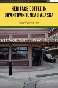 Heritage Coffee Shop in Downtown Juneau. Learn more at insidejuneau.com Alaska Cruise Tips, Juneau Alaska, Nature Photography Tips, Drinking Around The World, Green Business, Shore Excursions, Ways To Travel, Travel Planner, Coffee Shop